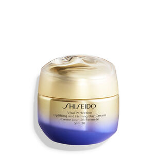 Uplifting and Firming Day Cream SPF 30 - Shiseido, Vital Perfection